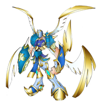 ARCH ANGEMON by neoarchangemon
