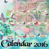 Calender 2016 by Secretadmires