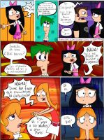 Pag. 34 'El Plan' Comic PnF by KarlaTerry
