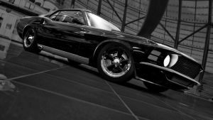 Ford Mustang Cammer 427ci V8 by RaynePhotography