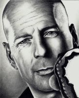 Bruce Willis - scan 6 by Doctor-Pencil