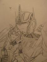 Optimus and Arcee a moment to remember by blondecomicartist