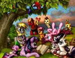 Under the Story Tree by harwicks-art