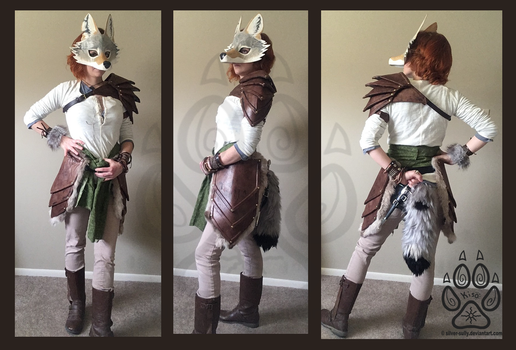 Coyote Rogue - Faux Armor Costume by Silver-Sundog