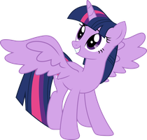 Twilight Sparkle Alicorn Vector by MLP-Mayhem