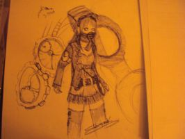 steampunk (mark crilley scrap) by candycotten
