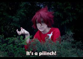 Takuto - It's a pinch by ShamanRenji