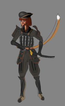 MMORPG Series - Picture 2: Final Fantasy XI WIP 2 by mistformsquirrel