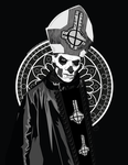 Ghost B.C. - Papa Emeritus II by hinterdemlicht