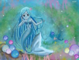 Sedna Goddess of the Deep sea by Shyleynn
