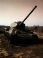 Tank T-34 by SoulOfRomantic