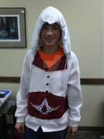 Assassin's Creed II Hoodie for my bro by VFire