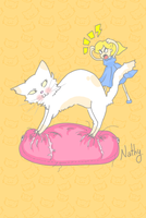 i love mi cat! by SNathy