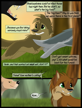 Caught Off Guard pg 3 by LilGreenTraveler