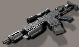 JX-12 Carbine Revamped by Robotlouisstevenson