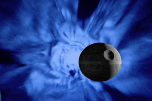 Death Star in Hyperspace by PumawithaPC