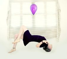 Purple Ballon... by cande-knd