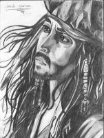 Johnny depp as jack sparrow by fantasi-dragen