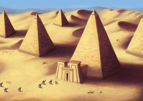 Ancient Meroe by Crash-baby