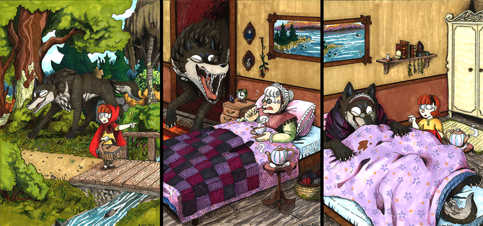 Little Red Riding Hood by sepi32014