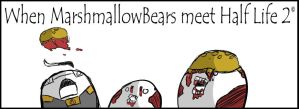 When Marshmallow Bears meet... by Toderico