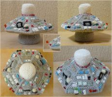 Five's second TARDIS console by ilwin