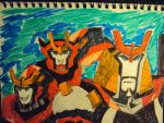 Drift and Minicons by TheSkullgrin140