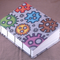 Cogs A6 Notebook by moopf