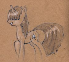 Hairy Twilight sketch by AlexandrVirus