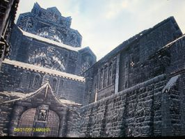 View of Palace of Kings, Windhelm by GeneralThomas03