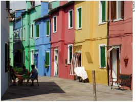 Burano' by CurlyTuft