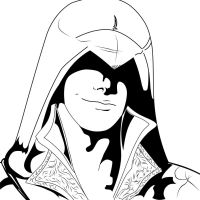 Ezio Inked by LightCurse