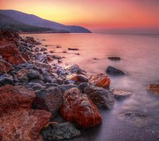 Rocks by the sea by Kounelli1