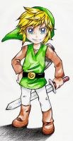 Link-pencil crayon by ElaineX