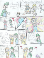 This is why they fight P.7 by luigi2cool