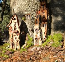 Wee Folk Mansion by ForestDwellerHouses