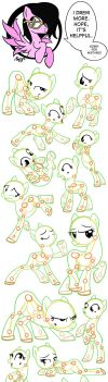 MLP: Tutorial (poses) - part 2 by ByPanda