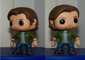 Scruffy Funko Pop Sam by LMRourke
