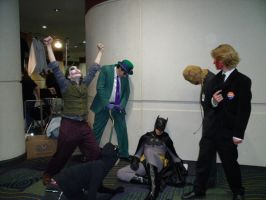 MegaCon: Batman Group by Devain