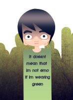 Green is the new Black by danum