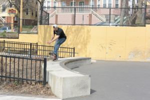 The Skateboarder, Trick On the Curve by Miss-Tbones