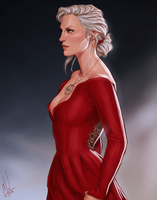 Celaena's dress by Merwild