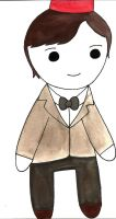 11th Doctor Chibi by Oceanblue-Art