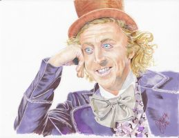 Willy Wonka by 0niVIRexe