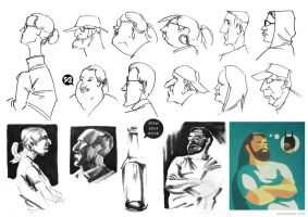 Portraits and caricatures by SimonBoxer