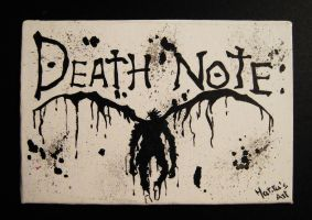 Death Note by MartyGallo