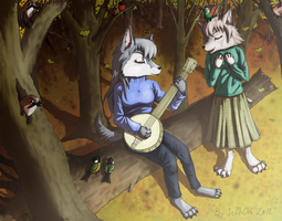 Song of the Wolves by JeMiChi