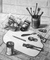 Art materials by diana-0421