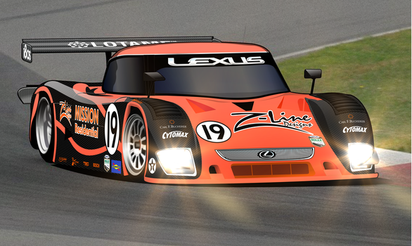 Daytona Prototype with Lights by gumby43