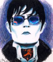 DARK SHADOWS SKETCH by Naomi-Torrecampo
